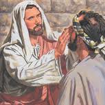 jesus blind man vision