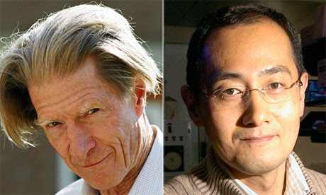 stem cell scientists Shinya Yamanaka and John B. Gurdon